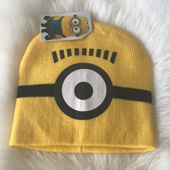 62fd51c80dc Despicable Me minion beanie hat